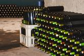 Бутылки складываются везде, где только можно.