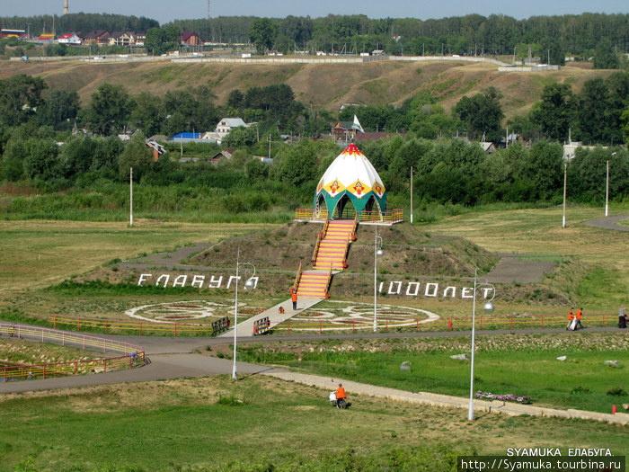 Панорама города Елабуги.
