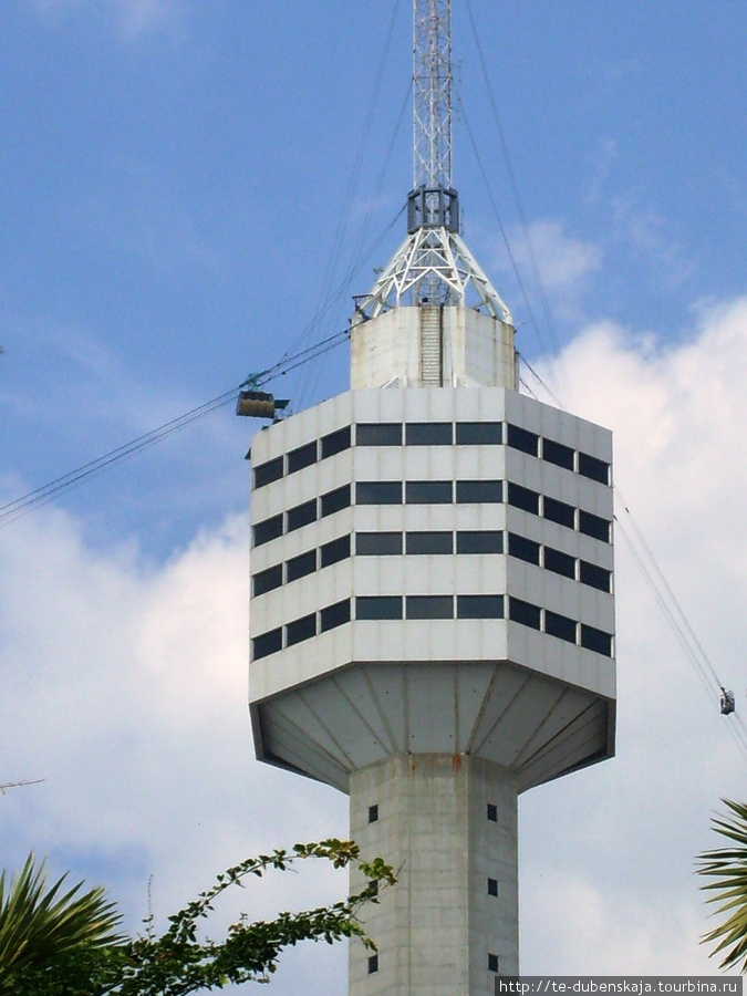 Отель Паттайя Парк, смотровая площадка на 56 этаже.