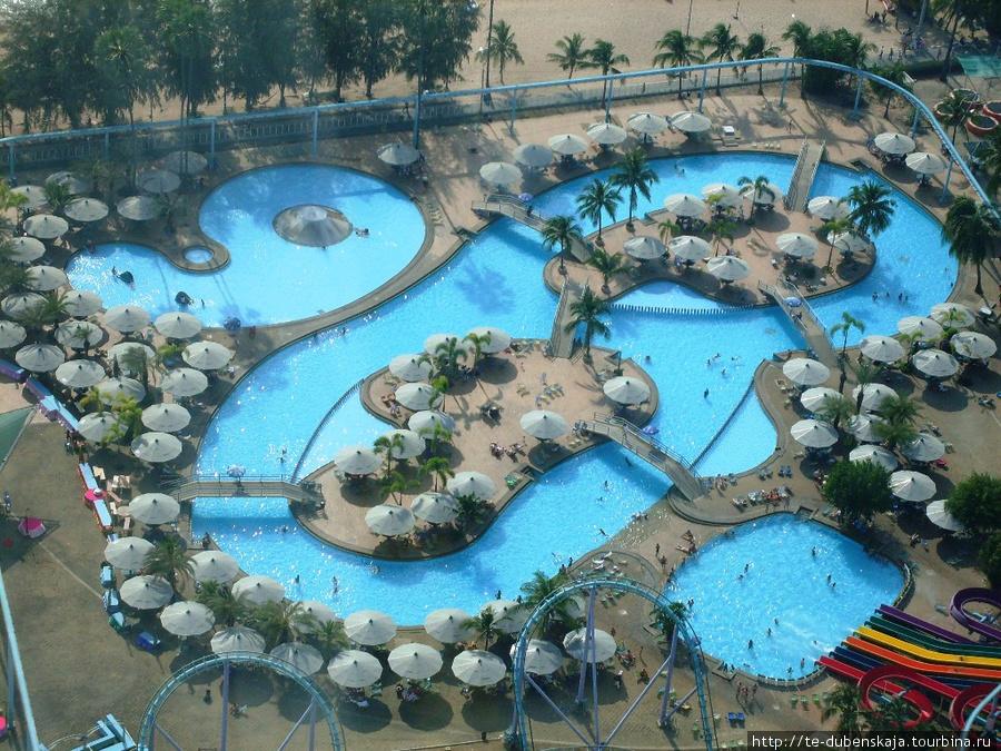 Аквапарк отеля Паттайя Парк — одно из мест развлечения туристов.