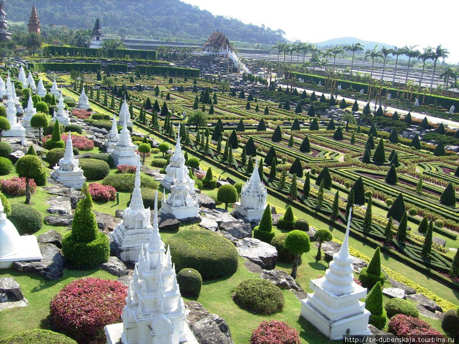 Миниатюры всех храмов Тайланда.