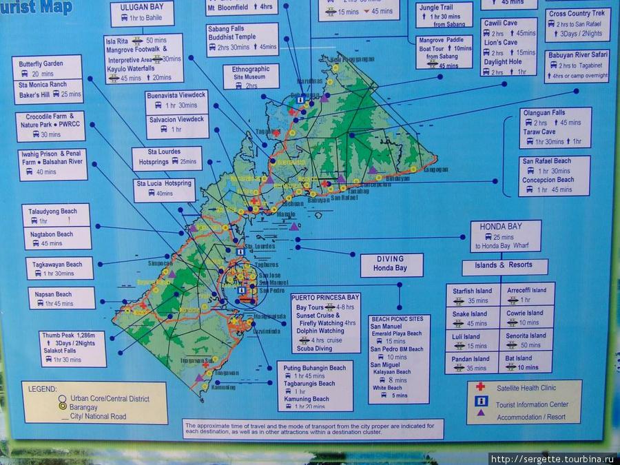 Карта муниципалитета ПП