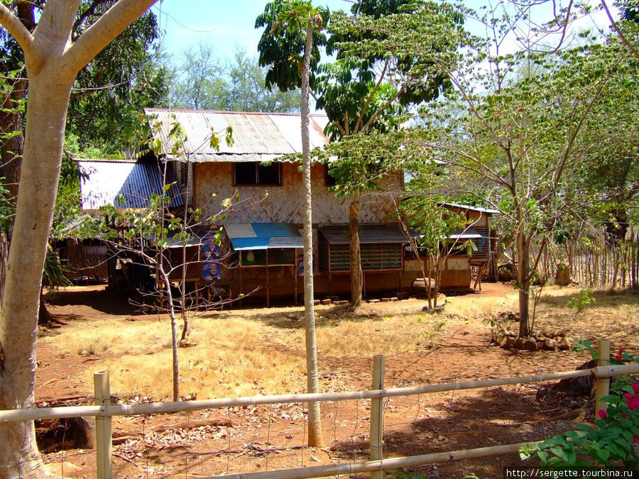 Обиталище местных крестьян