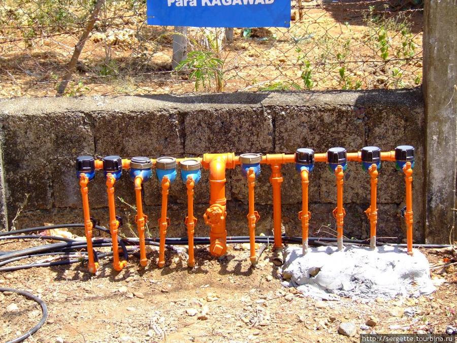 Все дома подключены к системе водоснабжения