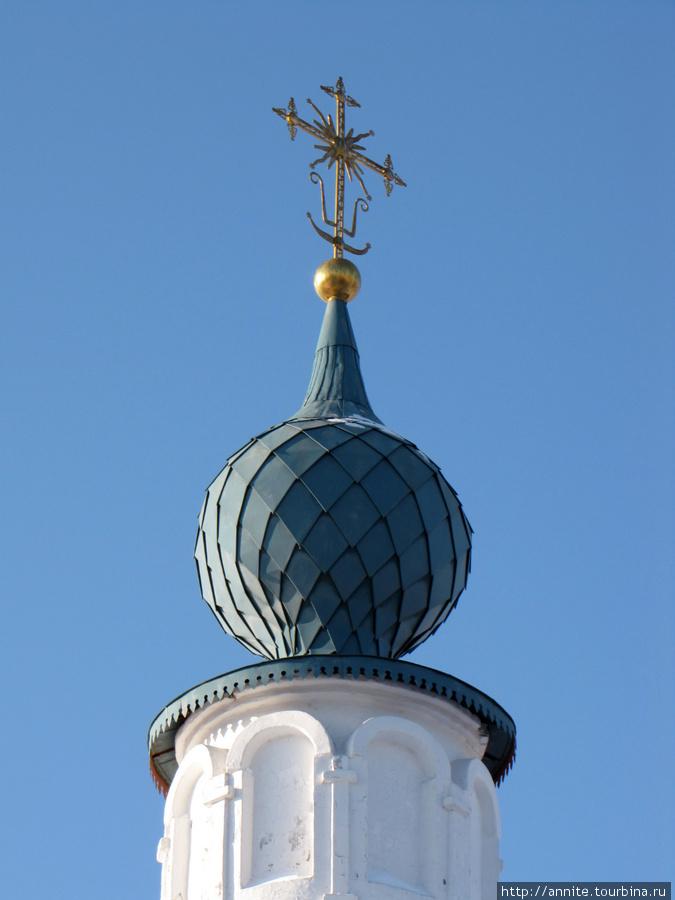 Троицкий собор. Купол.