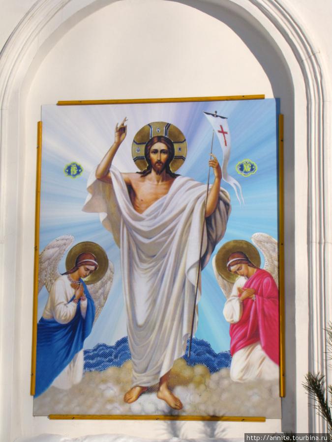 Сергиевская церковь. Фрагмент.