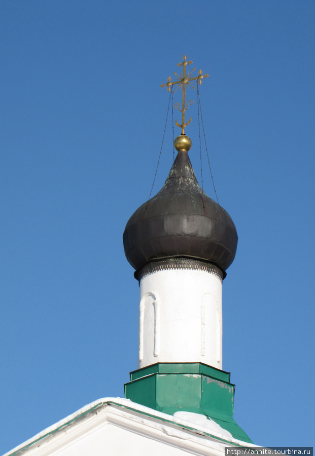 Купол Сергиевской церкви.