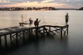 Вечернее купание в озере — святое!