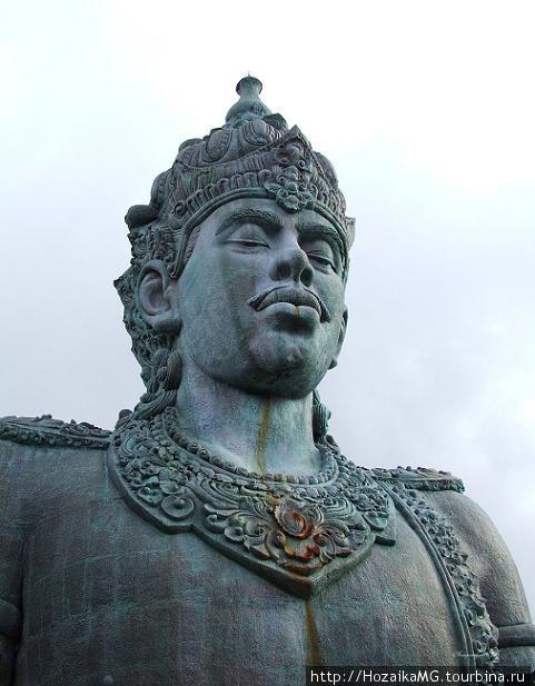 Часть монумента. Бог Шива.