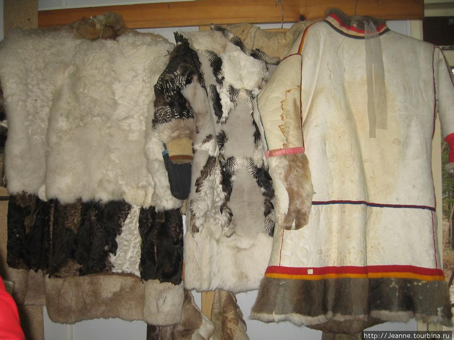Национальная одежда. Есть даже из рыбьей кожи, не только из меха.
