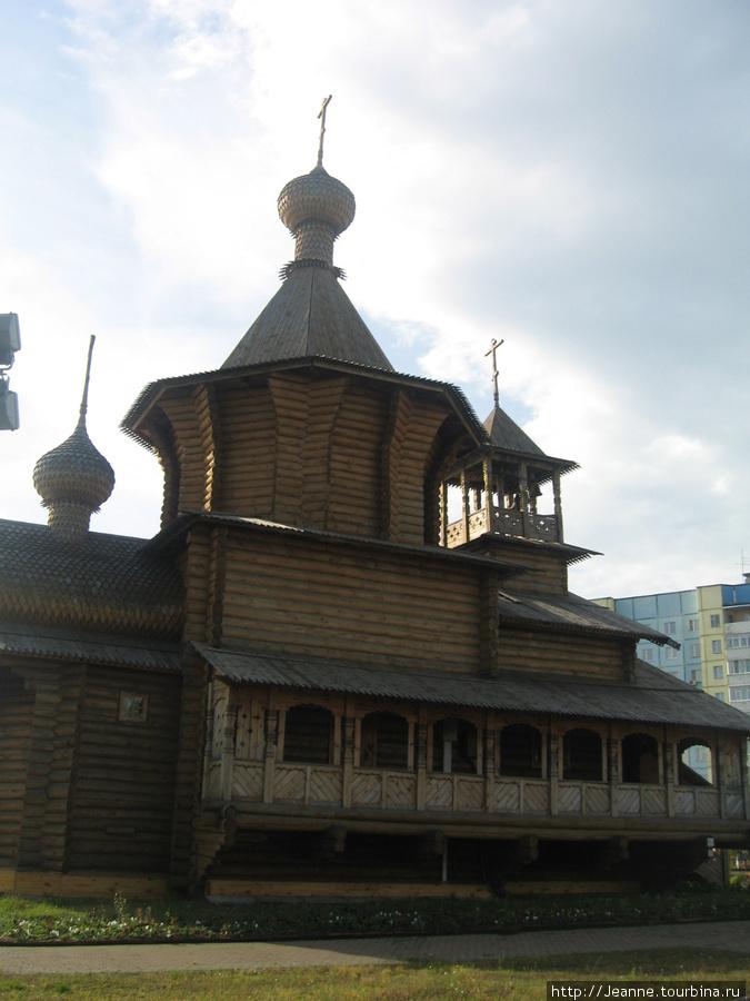 Церковь без единого гвоздя