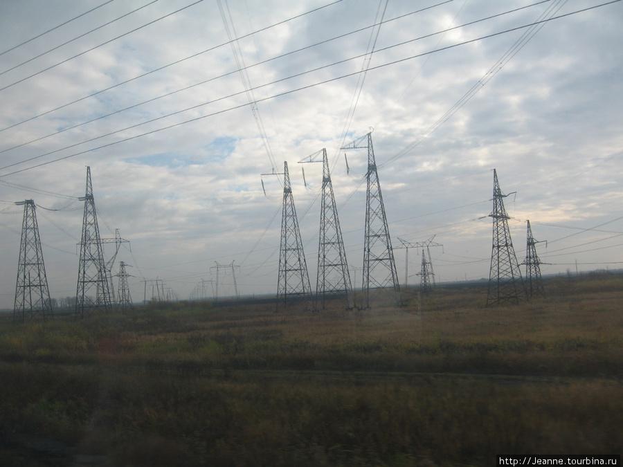 Дорога из Сургута до Тюмени