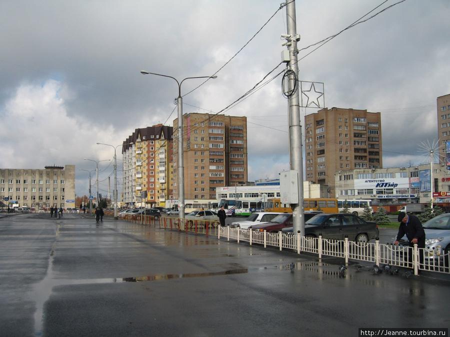 Привокзальная площадь Тюмени