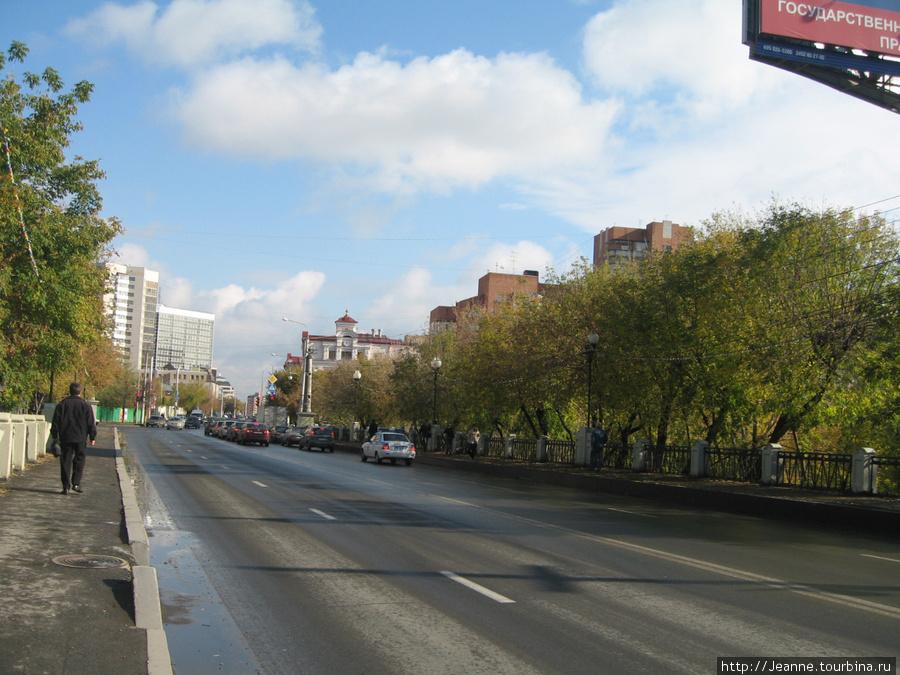 Тюмень — в 10 минутах от вокзала к городу