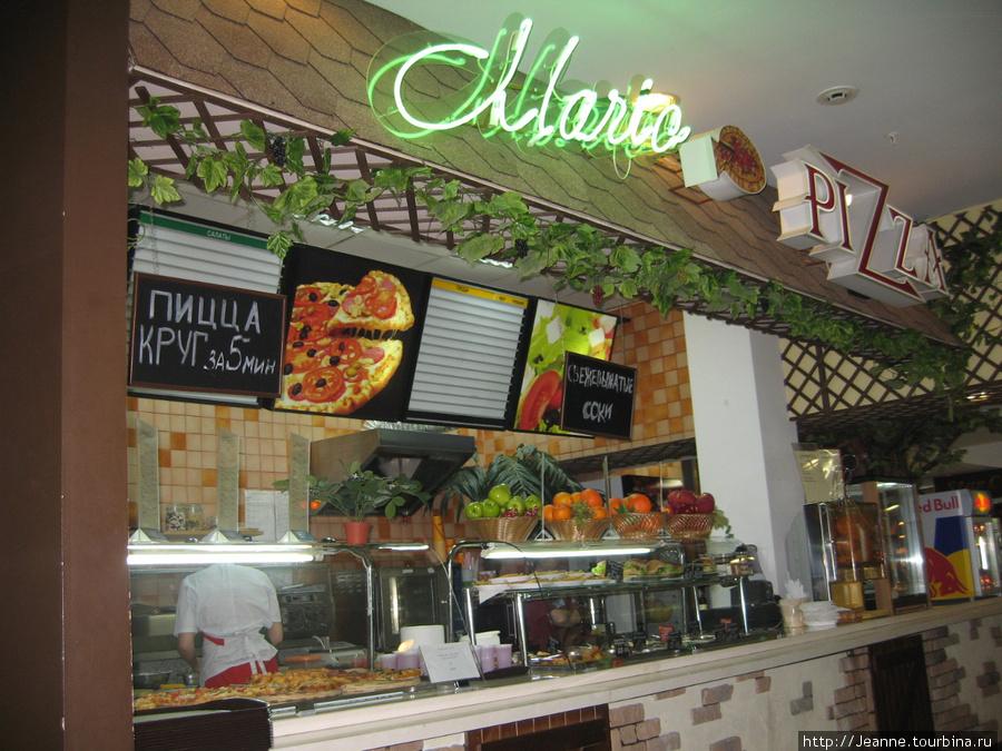 Пиццерия в ЦУМе