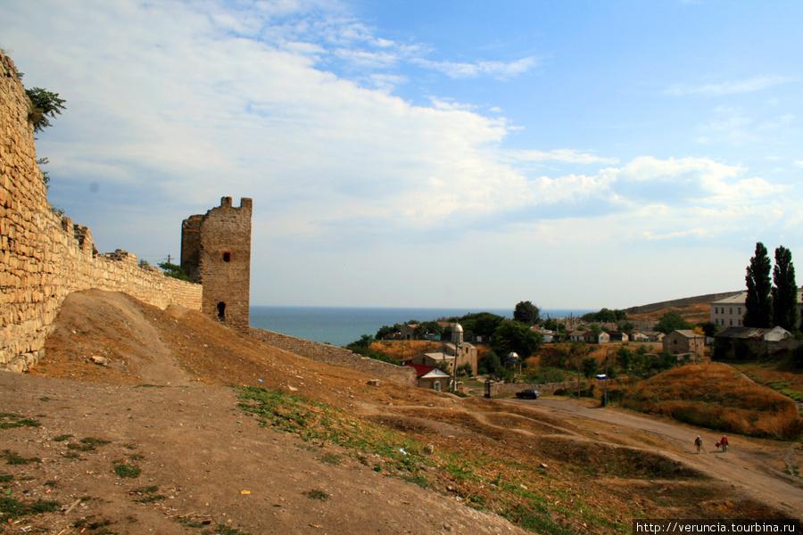 Генуэзская крепость в Фео