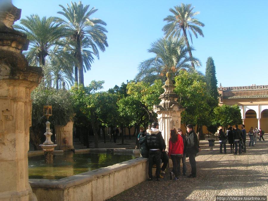 Внутренний двор бывшей мечети