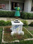 статуи пионеров (скаутов)