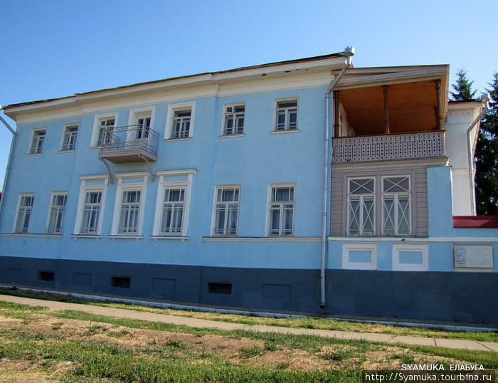 Дом-музей И. И. Шишкина в Елабуге.