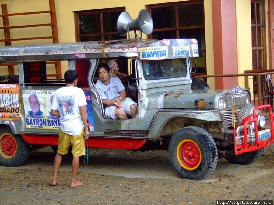 Все таки самые красивые джипни в Маниле, но и этот ничего