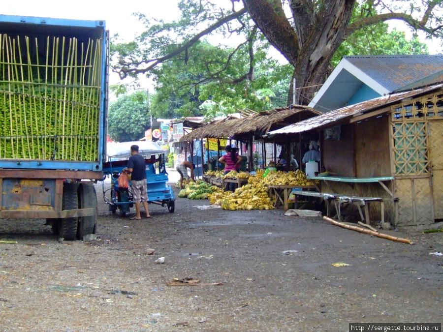 оптовый банановый рынок