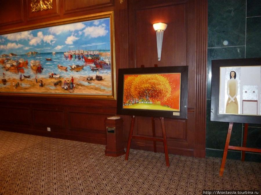 Выставка вьетнамских художников