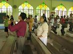 На богослужении