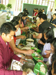Церковная еда: рис, чечевица, рыба — род местного причащения