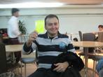Аксен, дающий нам второе предупреждение за употребление пахлавы в неразумных количествах))