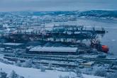 Мурманский порт состоит из трёх частей: Рыбный порт, Торговый порт и Пассажирский. В последние годы наблюдается тенденция вытеснения Торговым портом всех остальных из-за увеличения экспорта каменного угля и ряда других минеральных ресурсов, для приёма и хранения которых Мурманск имеет необходимую инфраструктуру. От постоянной разргузки угля, город постепенно тонет в угольной пыли, а весь снег становится серым.