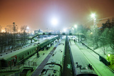 На этом наше заполярное путешествие закончилось, и мы отправились в купейный вагон поезда Мурманск-Москва, терпеть «температурный садизм мирового зла на колесах».