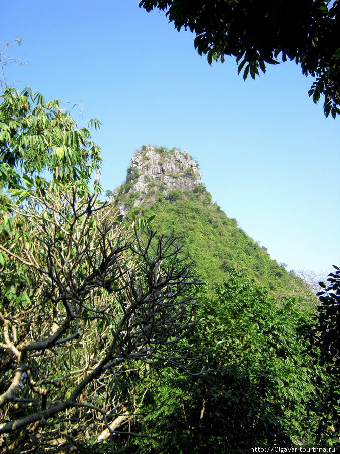 Хочется думать, что это гора Слона.