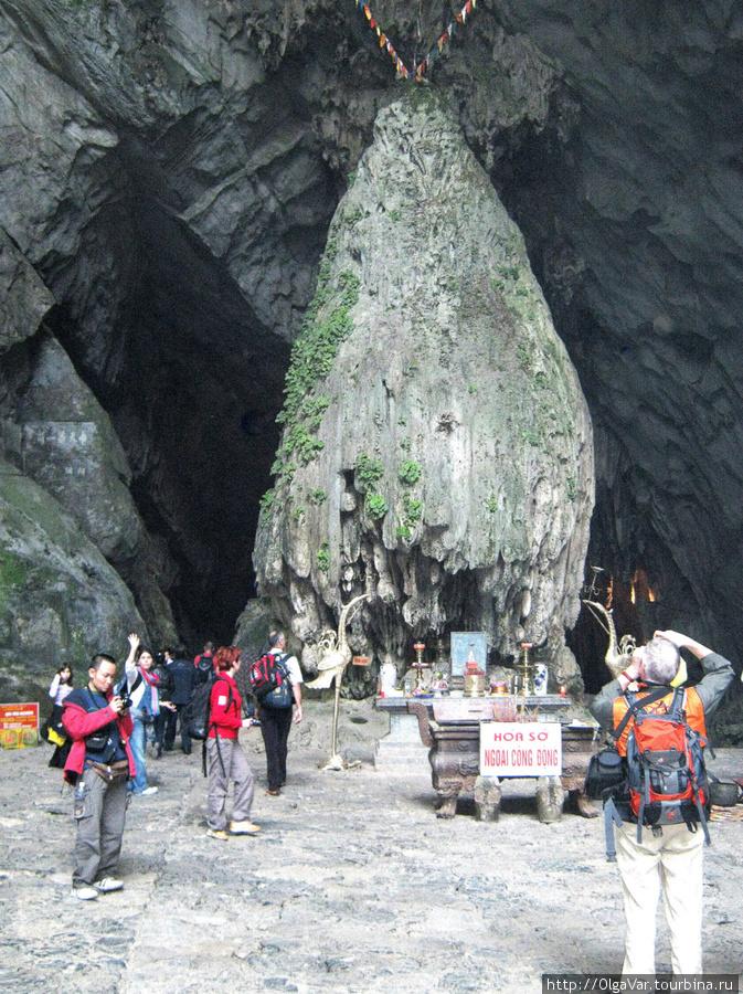 Ароматная пагода в скале