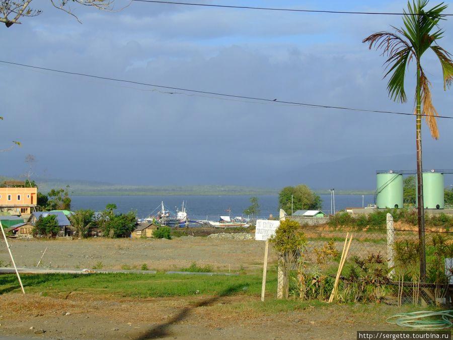 Юго восточная точка города, район  Masipag