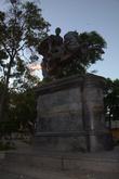Площадь Симона Боливара. Есть в каждом городе Венесуэлы.