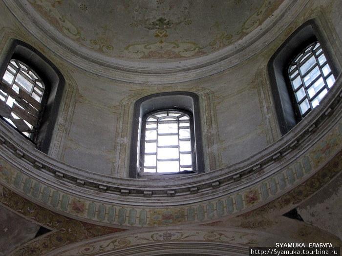 Спасский собор. Фрагмент купола.