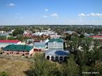 Вид на город с колокольни.
