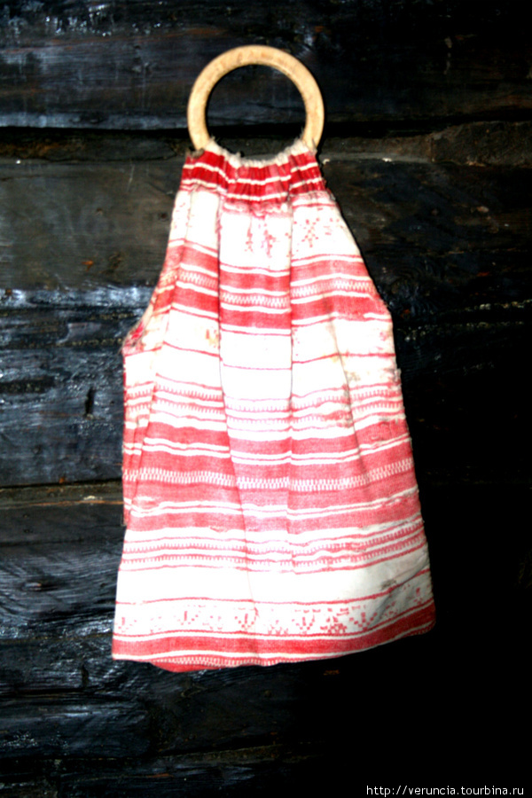Торба няни — музейная реликвия.