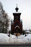 Деревянный храм в Суйде.