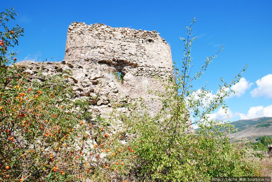 Крепость в районе селения Ацабет