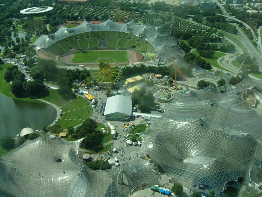 Это парк Олимпийский. Там есть аквариум