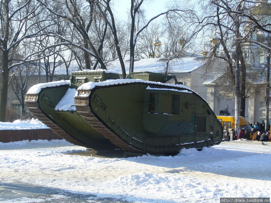 Английский танк Mk-V