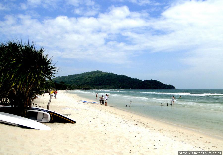 Пляж Sao Beach — райское