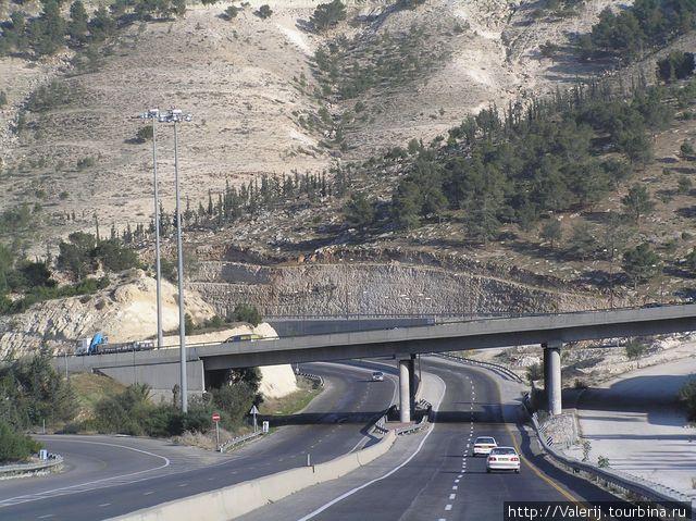 Дороги Израиля.