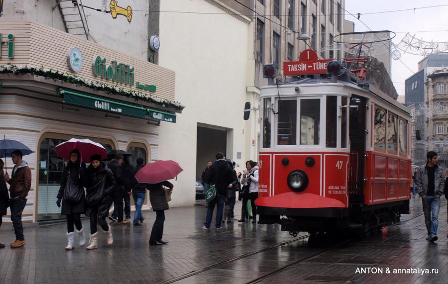 Трамвай на Истикляль