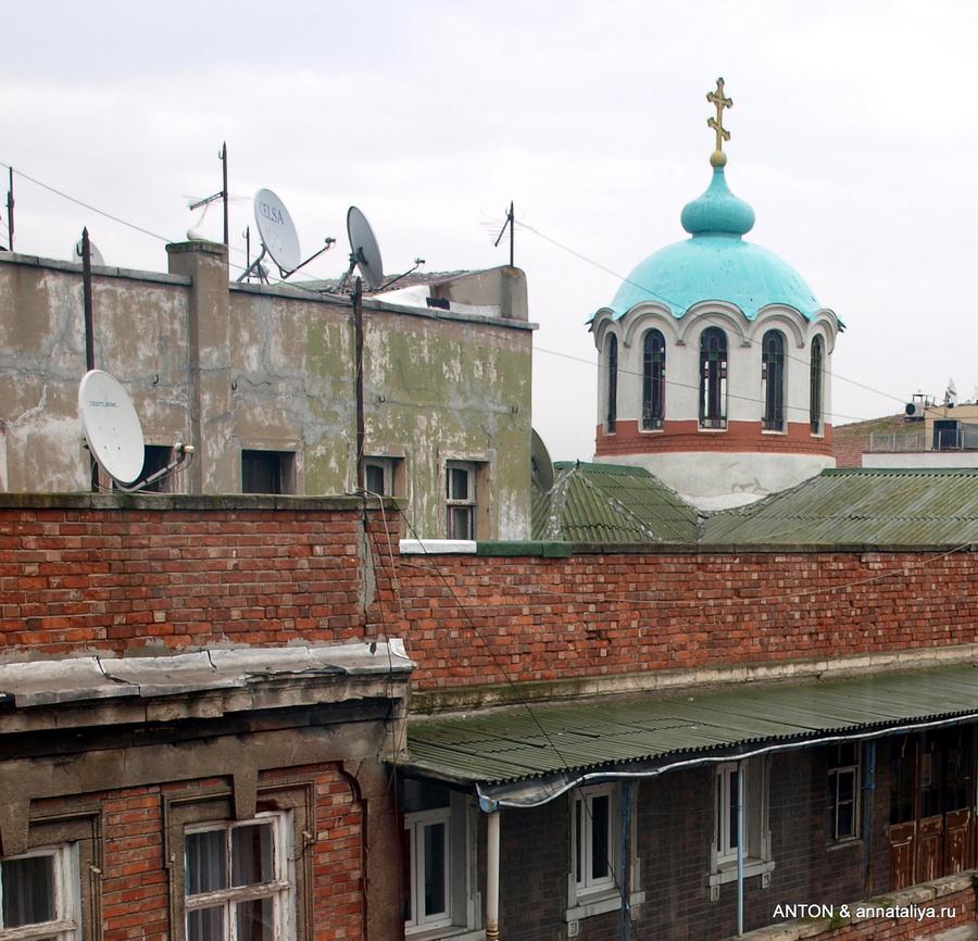 Церковь на крыше