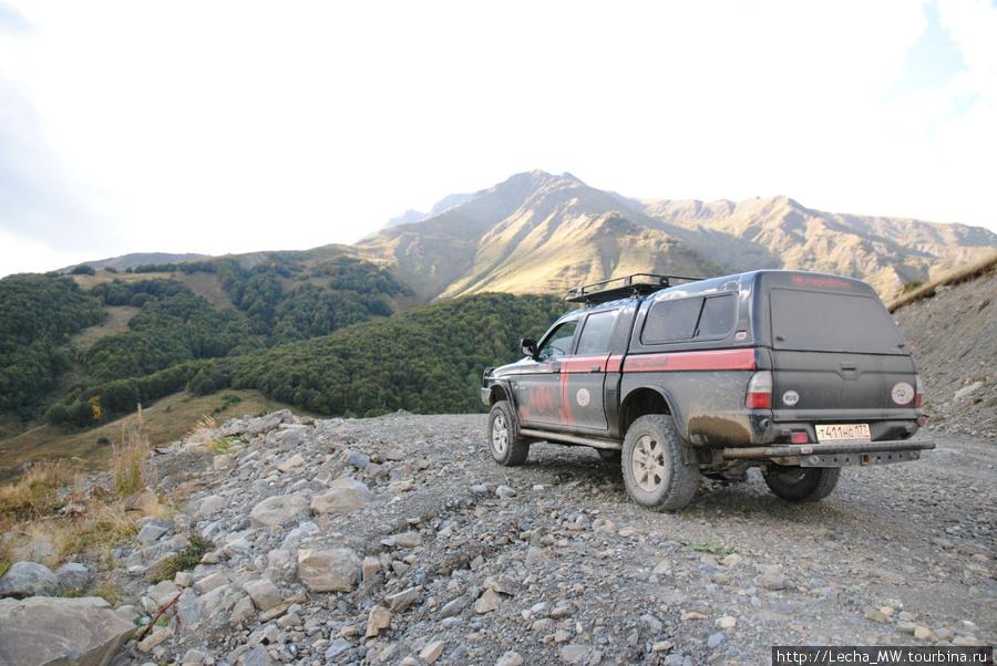 За горами Северная Осетия