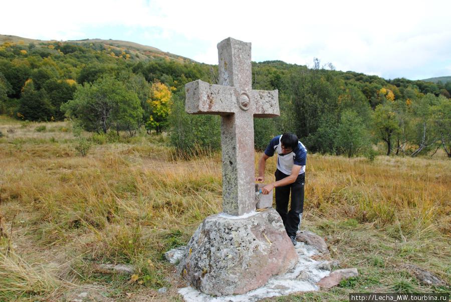 Пожертвование на подержание памятника
