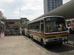 Автобусная стоянка (конечная) в центре города Сандакана