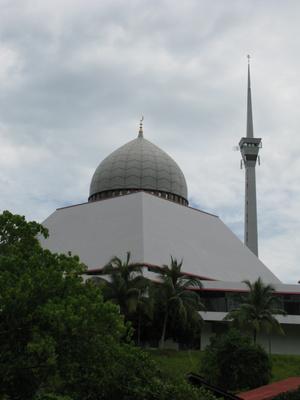 Большая мечеть (в ней я и ночевал)